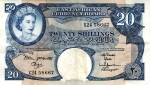 1960 - Twenty Shillings = 100 meat pies