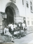 KAMPALA - Makerere University, front gate