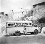 REMEMBER OUR SCHOOL BUS!! - MARY ANDANI outside FORT JESUS, Mombasa