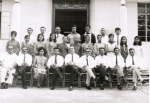 Shabnum Bandali (Standing 2nd row, 3rd from right) as Form 1 Science Teacher at AKHS in 1970