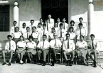 1964 - PREFECTS WITH MR. CORKRY AND MR. CARNEIRO